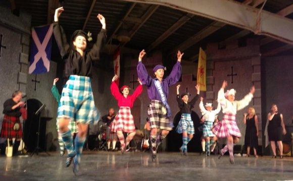 Ah, highland dancing!