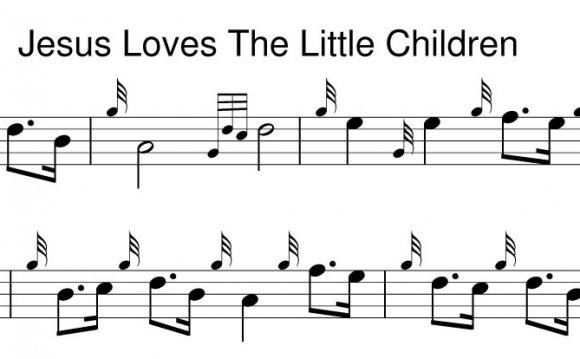 Jesus Loves The Little