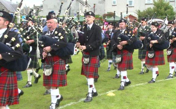 Highland Band, Scottish