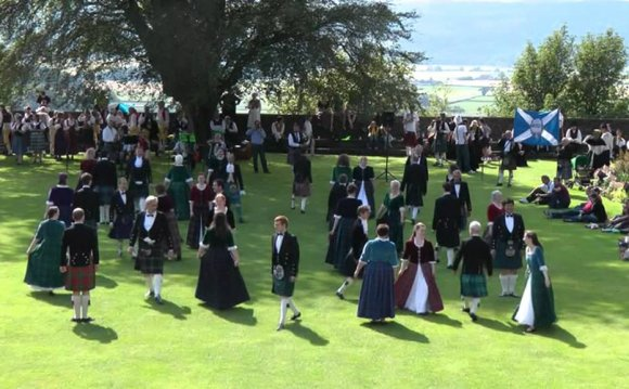 Scottish folk dance: Reel of