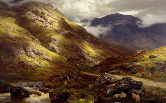 Scottish landscape artist