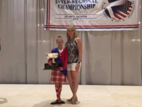 Highland dance champion