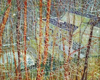 Peter Doig, The Architect's Home when you look at the Ravine, 1991