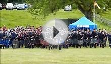Mass bagpipes glamis castle strathmore highland games 2015
