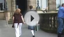 Men wear kilt in Edinburgh