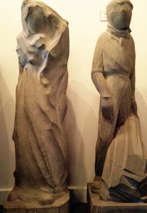 William Lamb. 'Unfinished' and 'The Quarryman'. ©Angus Council