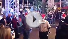 Christmas Bagpipe Flash Mob @ Tempe Marketplace