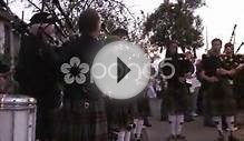 clip 280748: Bagpipes and drums